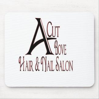 Acut Above Hair Salon Mouse Pad