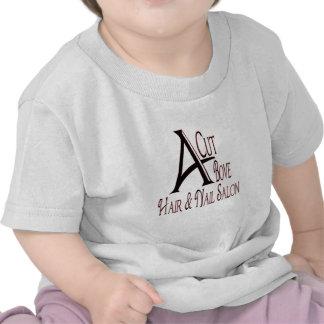 Acut Above Hair Salon Tee Shirts