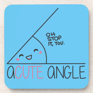 Acute Angle Coasters