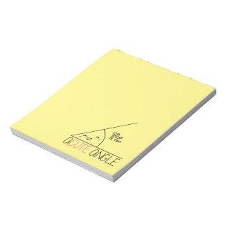 Acute Angle Notepad