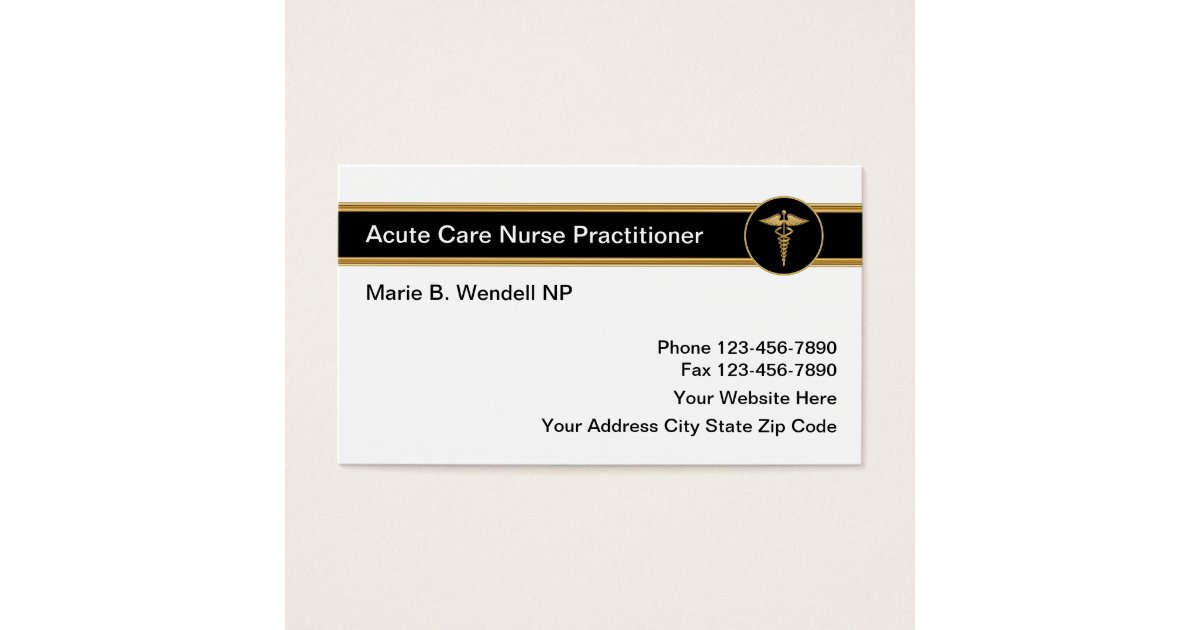 Private Duty Nurse Business Cards | Best Business Cards