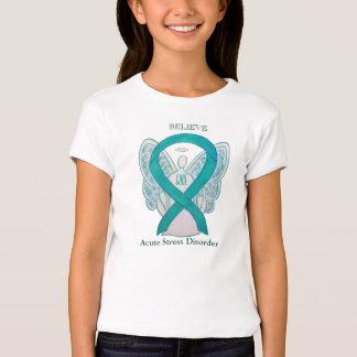 Acute Stress Disorder Teal Awareness Ribbon Shirt