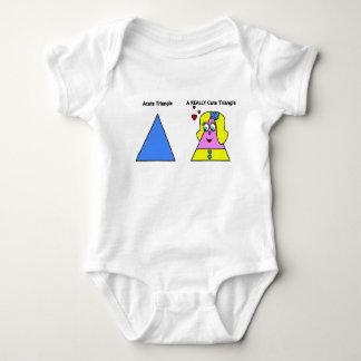 Acute Triangle A Really Cute Triangle Baby Bodysuit