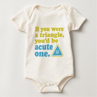 Acute Triangle Baby Bodysuit