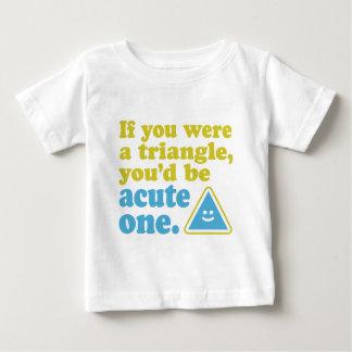 Acute Triangle Baby T-Shirt