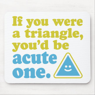 Acute Triangle Mouse Pad
