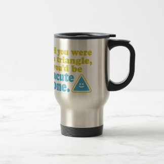 Acute Triangle Travel Mug