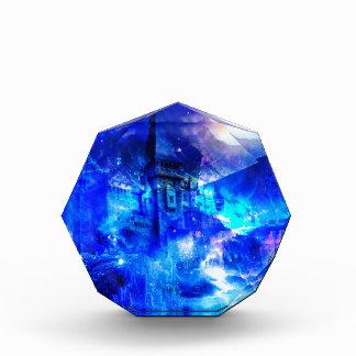 Ad Amorem Amisi Castle of Glass Acrylic Award