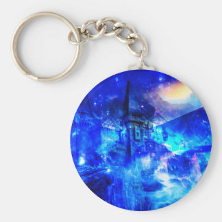 Ad Amorem Amisi Castle of Glass Keychain