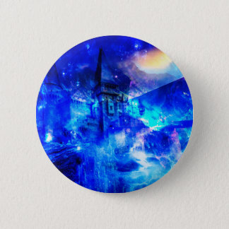 Ad Amorem Amisi Castle of Glass Pinback Button