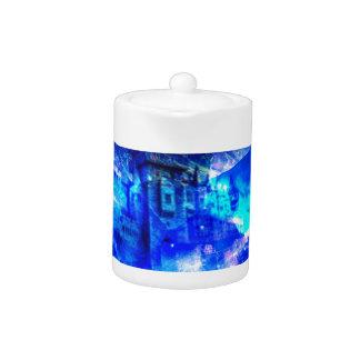 Ad Amorem Amisi Castle of Glass Teapot