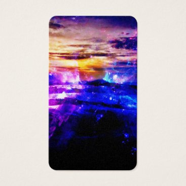 Beach Themed Ad Amorem Amisi Vanilla Twilight Business Card