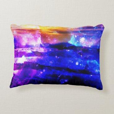 Beach Themed Ad Amorem Amisi Vanilla Twilight Decorative Pillow