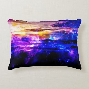 Beach Themed Ad Amorem Amisi Vanilla Twilight Decorative Pillow