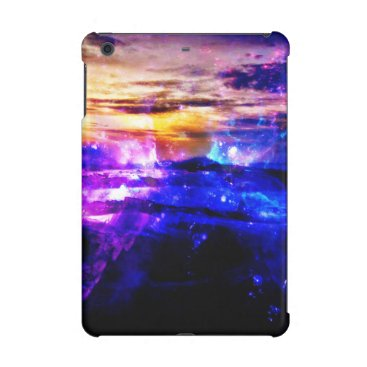 Beach Themed Ad Amorem Amisi Vanilla Twilight iPad Mini Retina Cover