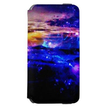 Beach Themed Ad Amorem Amisi Vanilla Twilight iPhone 6/6s Wallet Case