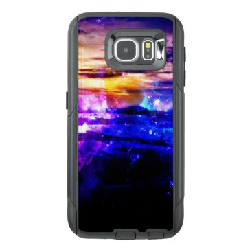 Beach Themed Ad Amorem Amisi Vanilla Twilight OtterBox Samsung Galaxy S6 Case