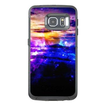 Beach Themed Ad Amorem Amisi Vanilla Twilight OtterBox Samsung Galaxy S6 Edge Case