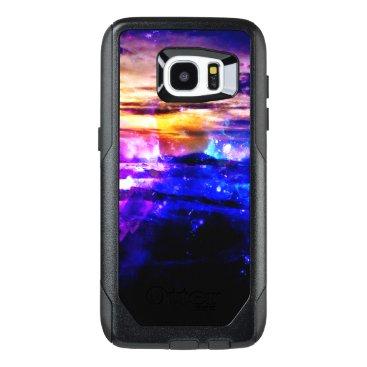Beach Themed Ad Amorem Amisi Vanilla Twilight OtterBox Samsung Galaxy S7 Edge Case