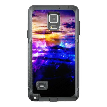 Beach Themed Ad Amorem Amisi Vanilla Twilight OtterBox Samsung Note 4 Case