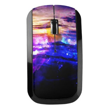 Beach Themed Ad Amorem Amisi Vanilla Twilight Wireless Mouse