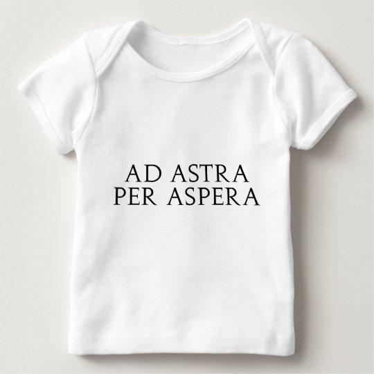 Ad Astra Per Aspera Baby T-Shirt
