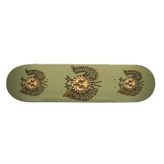 AD- Awesome Owl Art Skateboard
