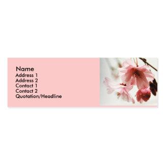 AD- Cherry Blossom Profile cards