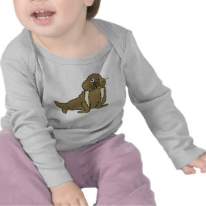 AD- Cute Walrus Baby Outfit shirt