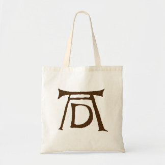AD Durer Monogram Tote Bag
