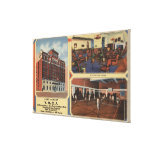 Ad for Army/Navy Y.M.C.A. Building Stretched Canvas Prints