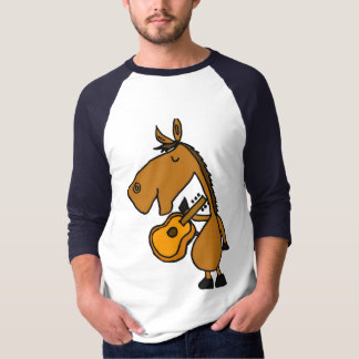 AD- Funny Horse and Guitar Shirt
