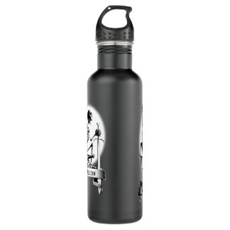 Ad Infinitum Skeletons Stainless Steel Water Bottle