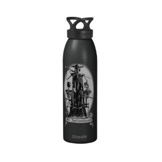 Ad Infinitum Skeletons Water Bottles