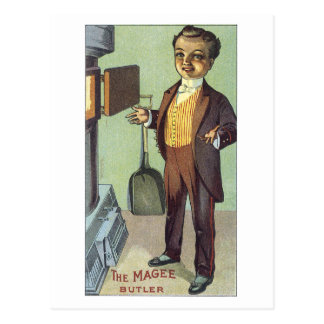 Ad Label Magee Butler Victorian Postcard