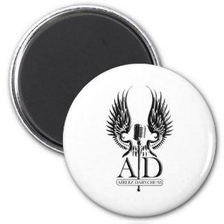 AD Logo in Black Magnet