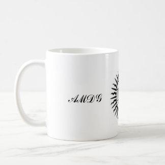 Ad majorem dei gloriam coffee mug
