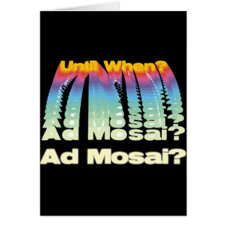 Ad Mosai Card