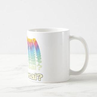 Ad Mosai Classic White Coffee Mug
