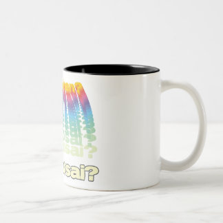 Ad Mosai Two-Tone Coffee Mug