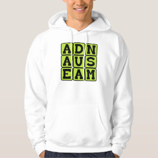 Ad Nauseam, To A Sickening Degree Latin Phrase Hoodie