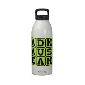 Ad Nauseam, To A Sickening Degree Latin Phrase Water Bottles