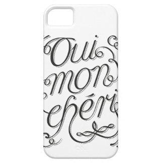 AD Oui Mon Cheri iPhone 5 Case