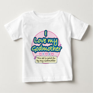 Ad paid for by my Godmother pk Baby T-Shirt
