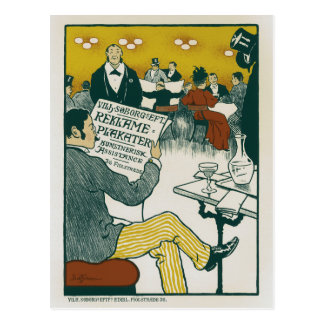 Ad Poster 1895 Postcard