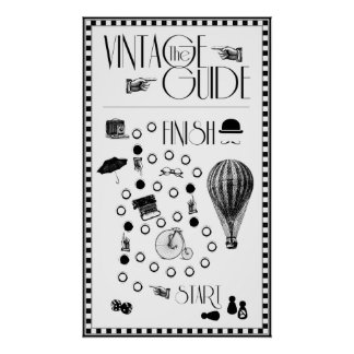 AD Vintage Guide Poster