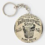 Ad Washing Soap Key Chains
