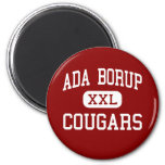Ada Borup - pumas - alto - Borup Minnesota Imanes Para Frigoríficos