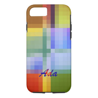 Ada Colors in Square Style iPhone case
