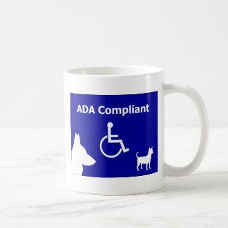 ADA Compliant Coffee Mug